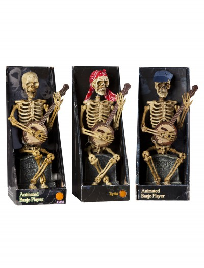 Skeleton Playing Banjo buy now