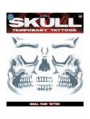 Skull Face Temporary Tattoo buy now
