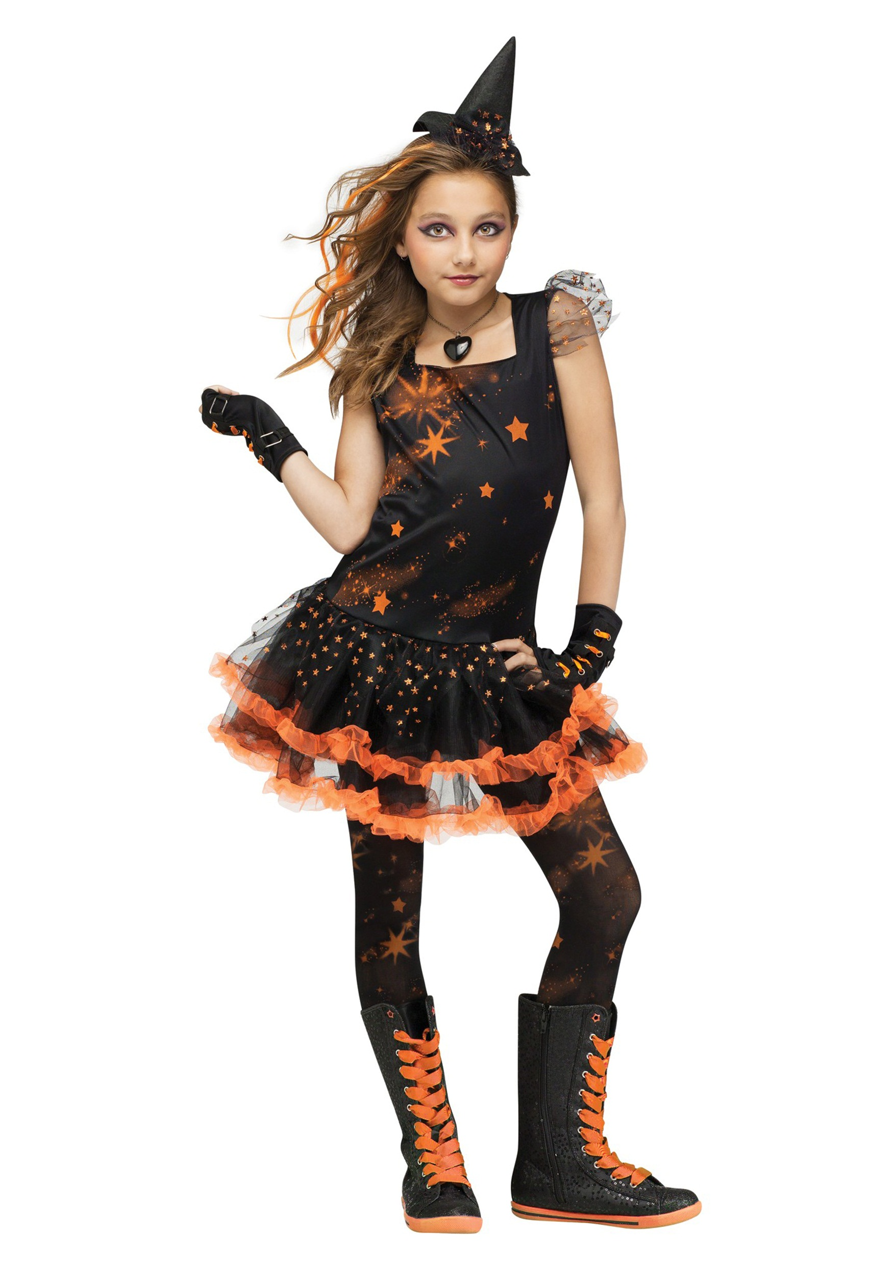 7c9eaa2301b Sparkle Star Witch Child Costume
