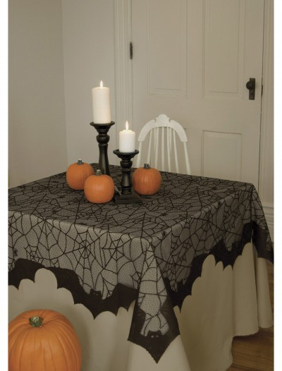 Spider Web and Bat Table Topper buy now