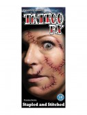 Stapled and Stitched Temporary Tattoo Kit buy now