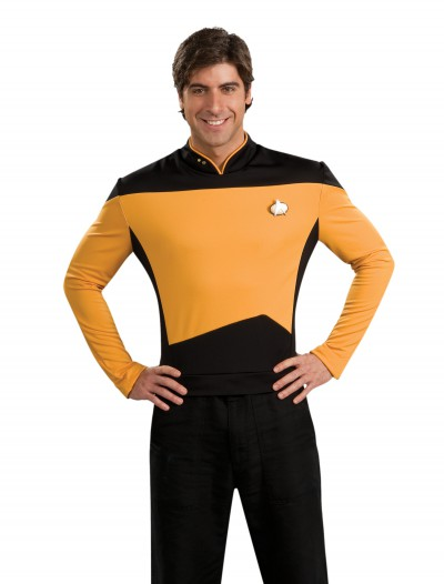 Star Trek: TNG Adult Deluxe Operations Uniform buy now