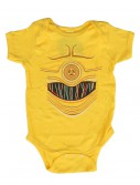 Star Wars C3PO Onesie buy now