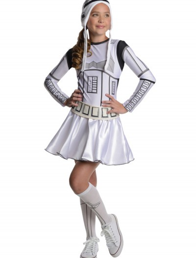 Storm Trooper Tween Dress Costume buy now