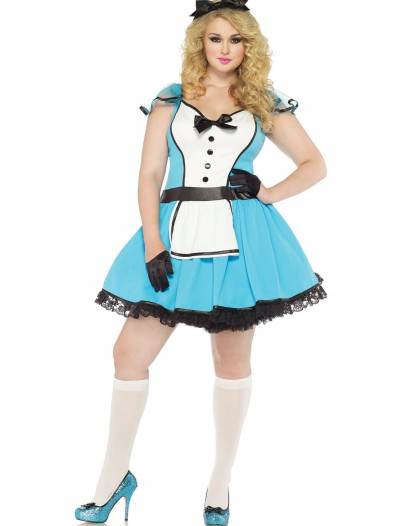 Storybook Alice Plus Size Costume buy now
