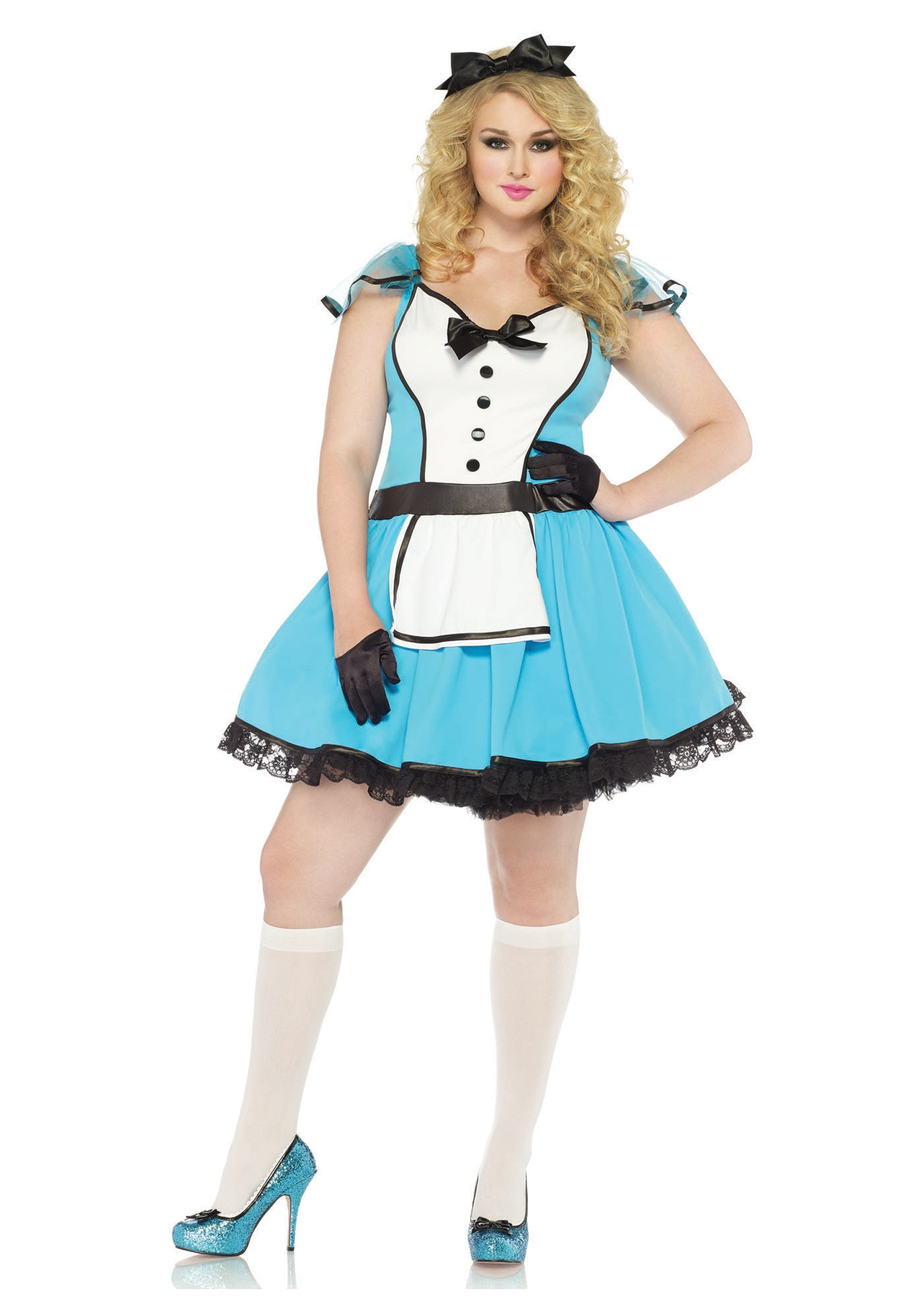 Storybook Alice Plus Size Costume  sc 1 st  Halloween Costumes & Storybook Alice Plus Size Costume - Halloween Costumes