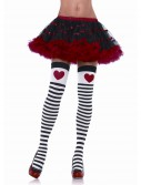 Striped Stockings with Red Heart buy now