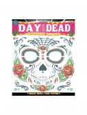 Sugar Skull Face Temporary Tattoo buy now