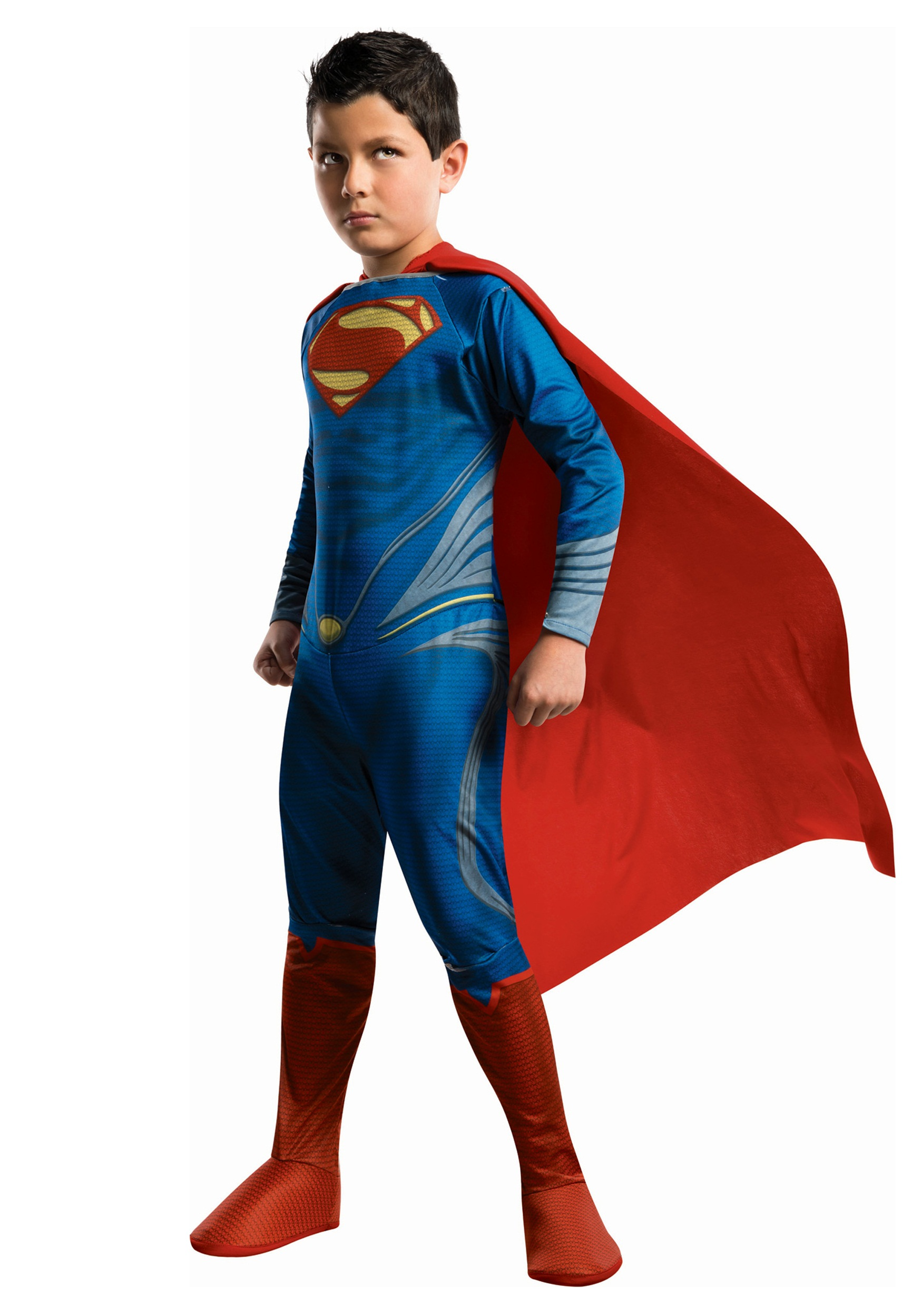 Superman Man of Steel Child Costume  sc 1 st  Halloween Costumes : costume children  - Germanpascual.Com