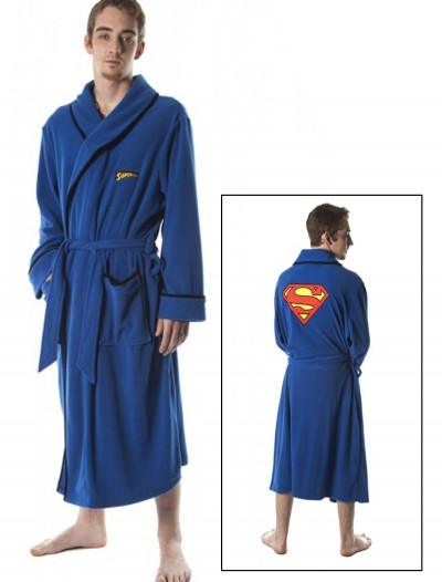 Superman Micro Polar Fleece Robe buy now