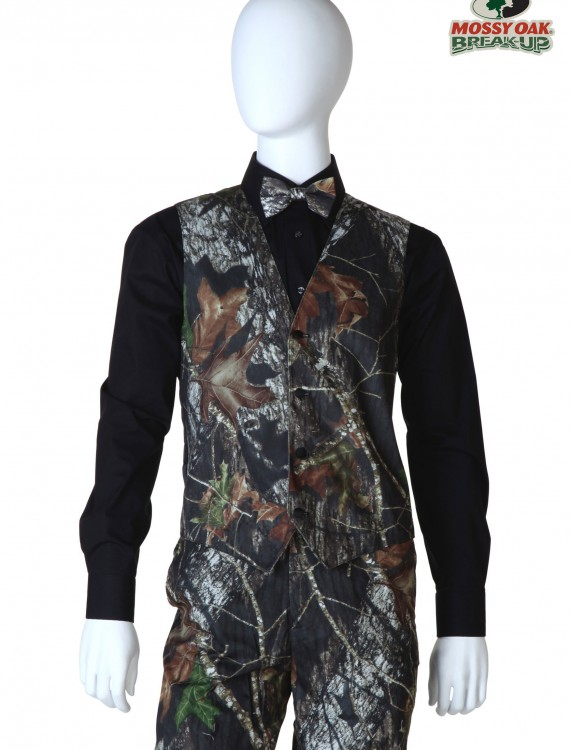 Tall Mossy Oak Full Back Vest buy now