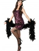 Tear Drop Plum Flapper Costume buy now