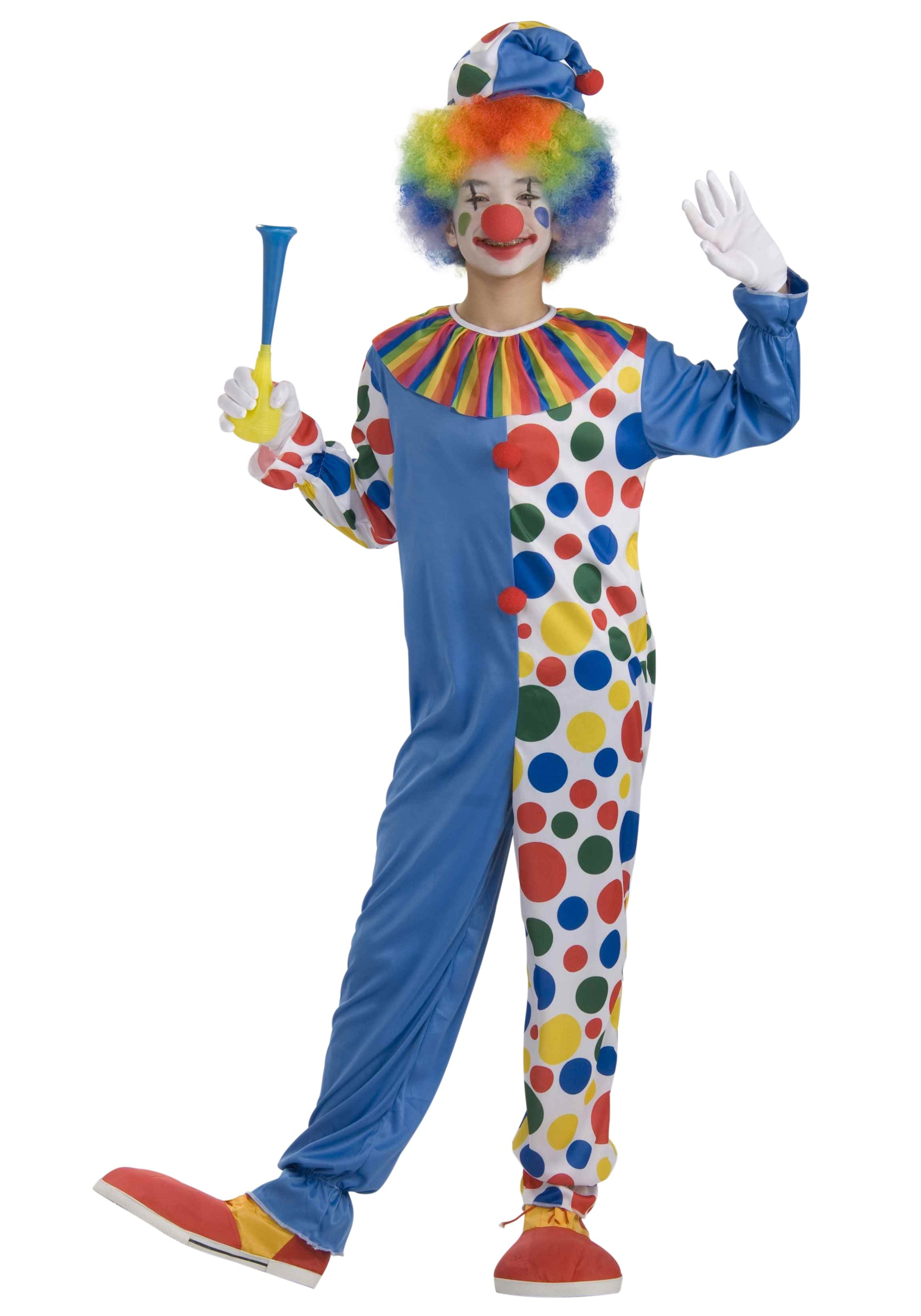 Teen Big Top Clown Costume  sc 1 st  Halloween Costumes & Teen Big Top Clown Costume - Halloween Costumes