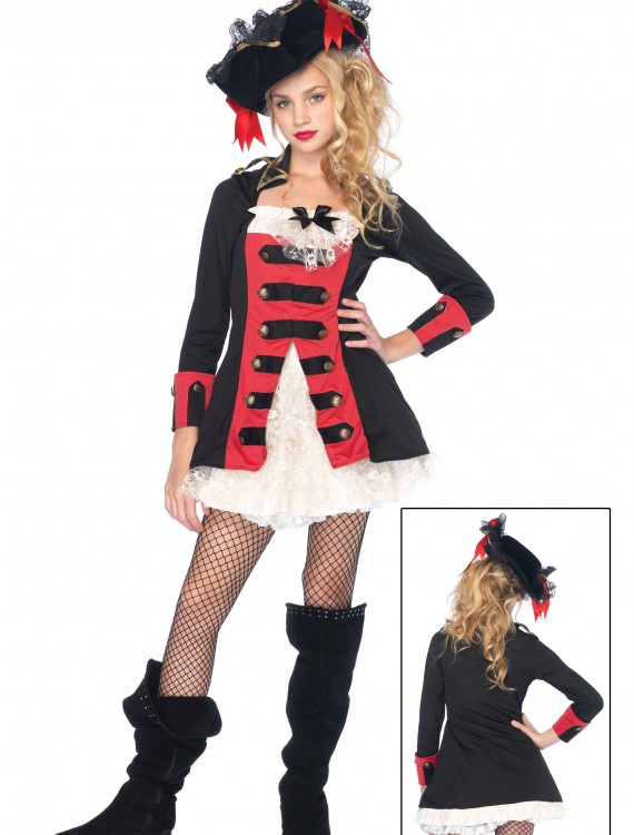Teen Charming Pirate Captain Costume buy now
