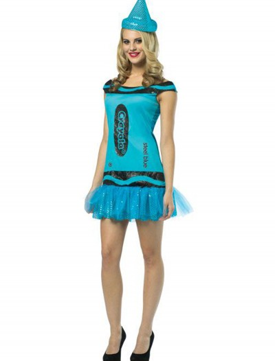 Teen Crayola Steel Blue Glitz Dress buy now