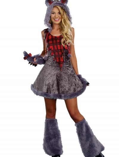 Teen Full Moon Sassy Werewolf Costume buy now
