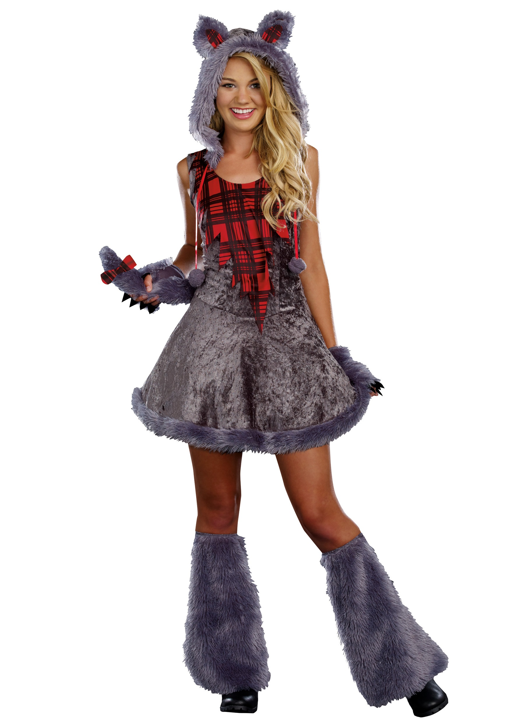 Teen Full Moon Sassy Werewolf Costume  sc 1 st  Halloween Costumes : costumes wolf  - Germanpascual.Com