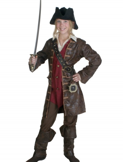Teen Girls Caribbean Pirate Costume buy now