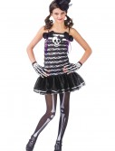 Teen Girls Skeleton Costume buy now