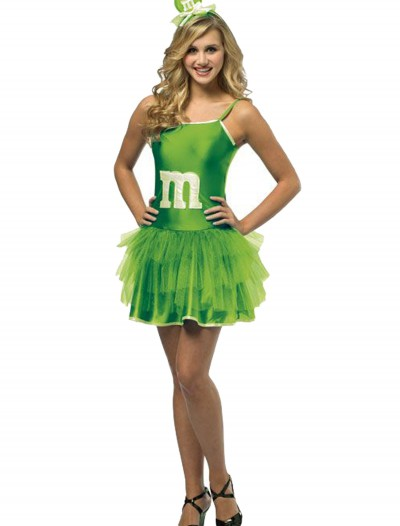 Teen Green M&M Party Dress buy now