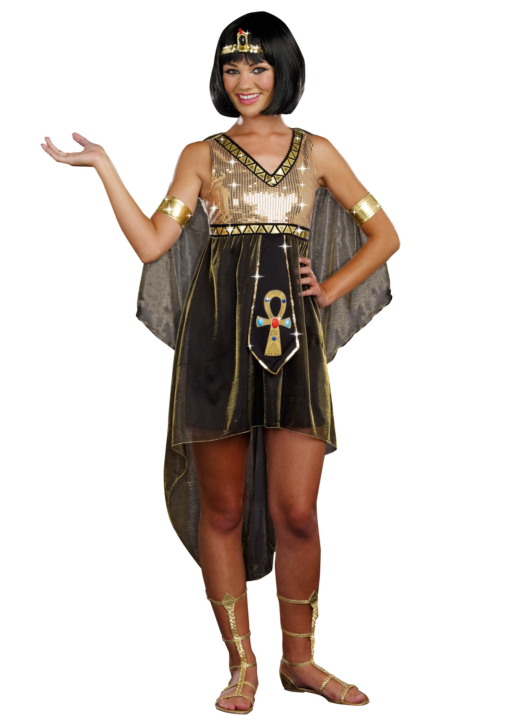 Teen Jewel of the Nile Cleopatra Costume  sc 1 st  Halloween Costumes & Teen Jewel of the Nile Cleopatra Costume - Halloween Costumes