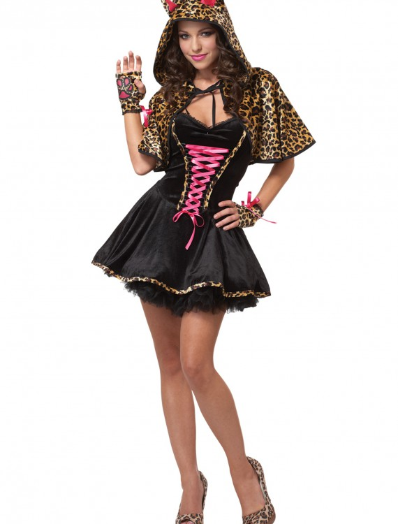 Teen Leopard Kitty Costume buy now