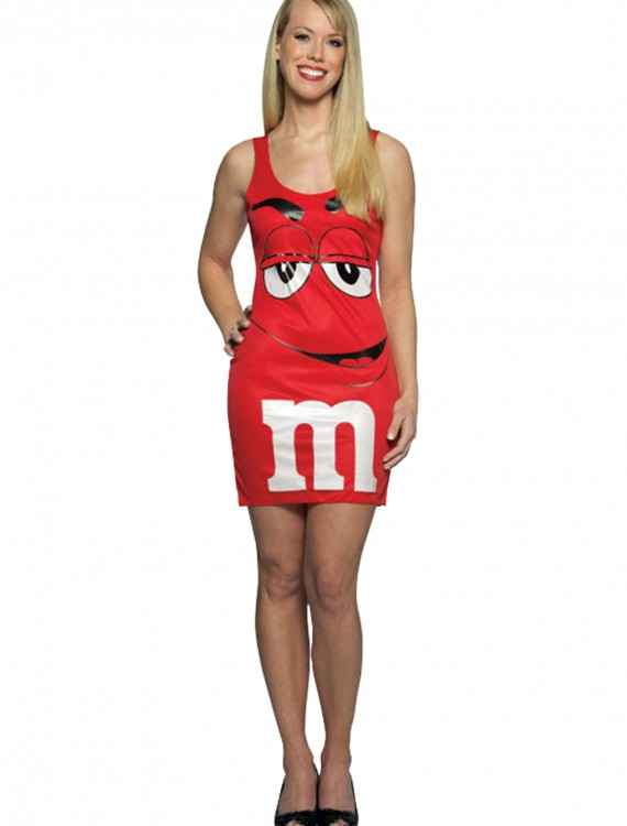 Teen M&M Red Tank Dress buy now