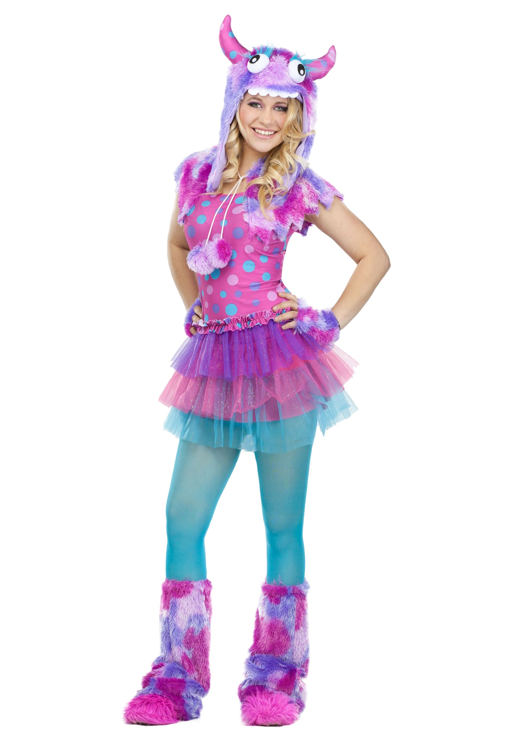 Teen Polka Dot Monster Costume  sc 1 st  Halloween Costumes & Teen Polka Dot Monster Costume - Halloween Costumes