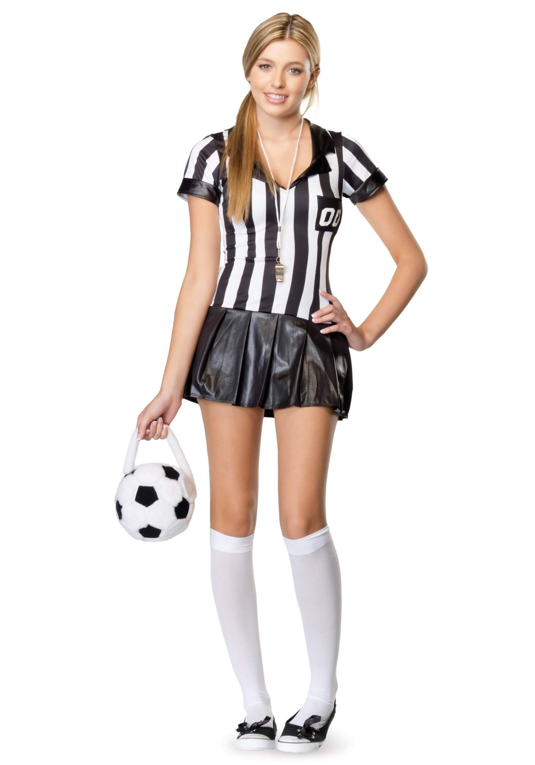 Teen Referee Costume  sc 1 st  Halloween Costumes & Teen Referee Costume - Halloween Costumes