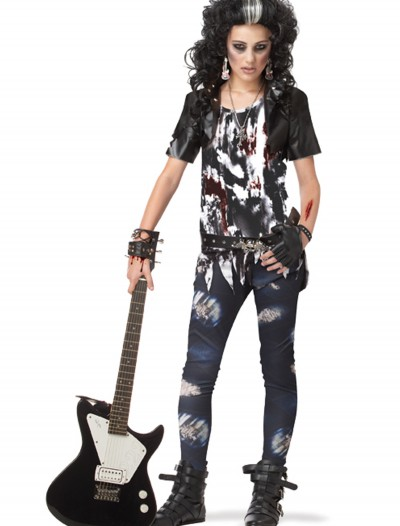 Teen Rocked Out Zombie Costume buy now