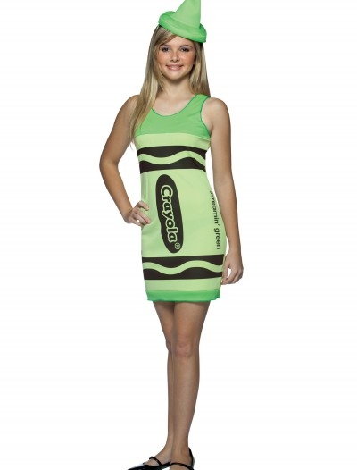 Teen Screamin' Green Crayon Dress buy now