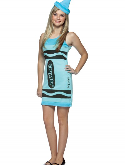 Teen Sky Blue Crayon Dress buy now