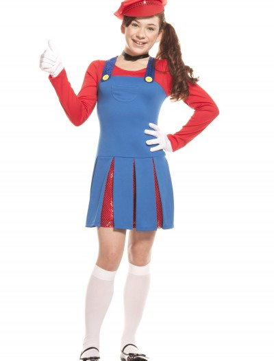 Teen Super Maria Costume buy now
