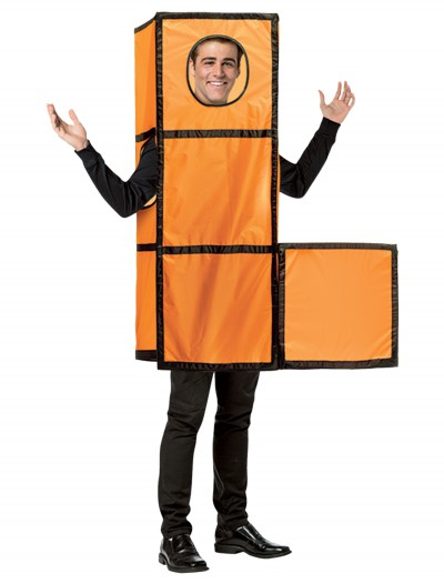 Tetris Orange Costume buy now
