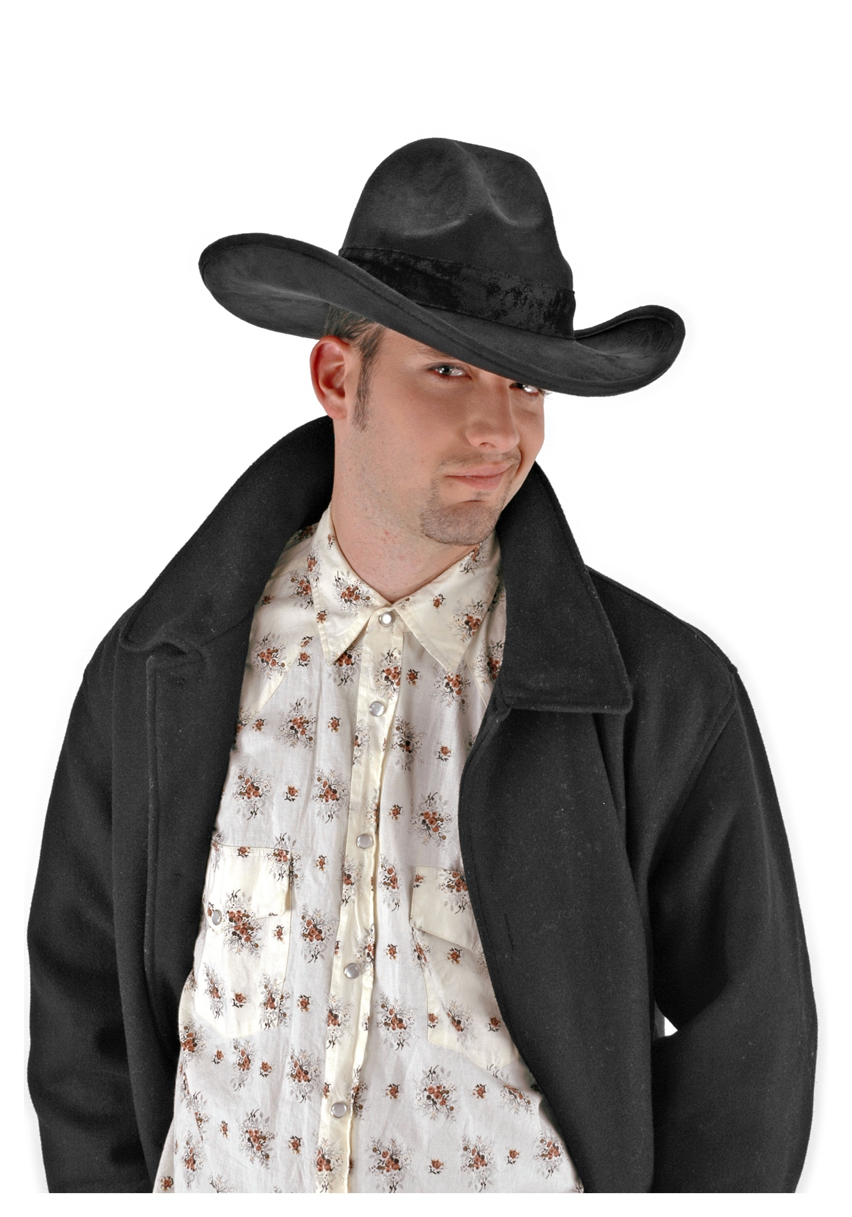 3112065469362b The Gambler Hat Black - Halloween Costumes
