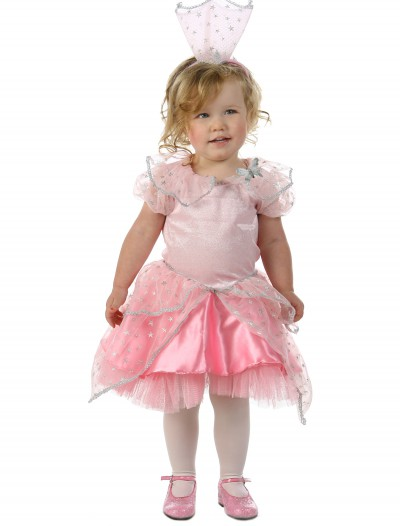 Child Wizard of Oz Glinda Glitter Costume buy now