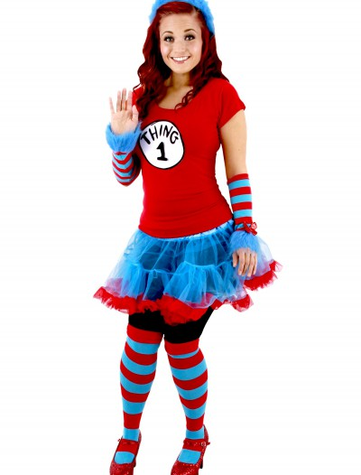 Thing 1 & Thing 2 Adult Tutu Costume buy now