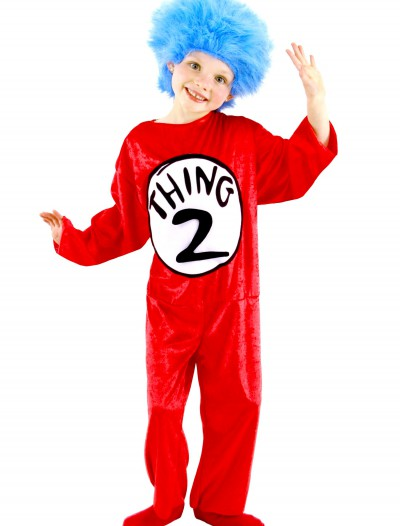 Thing 1 & Thing 2 Kids Costume buy now
