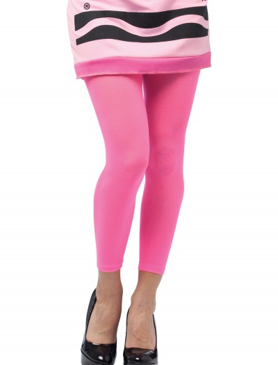 Tickle Me Pink Crayon Footless Tights buy now