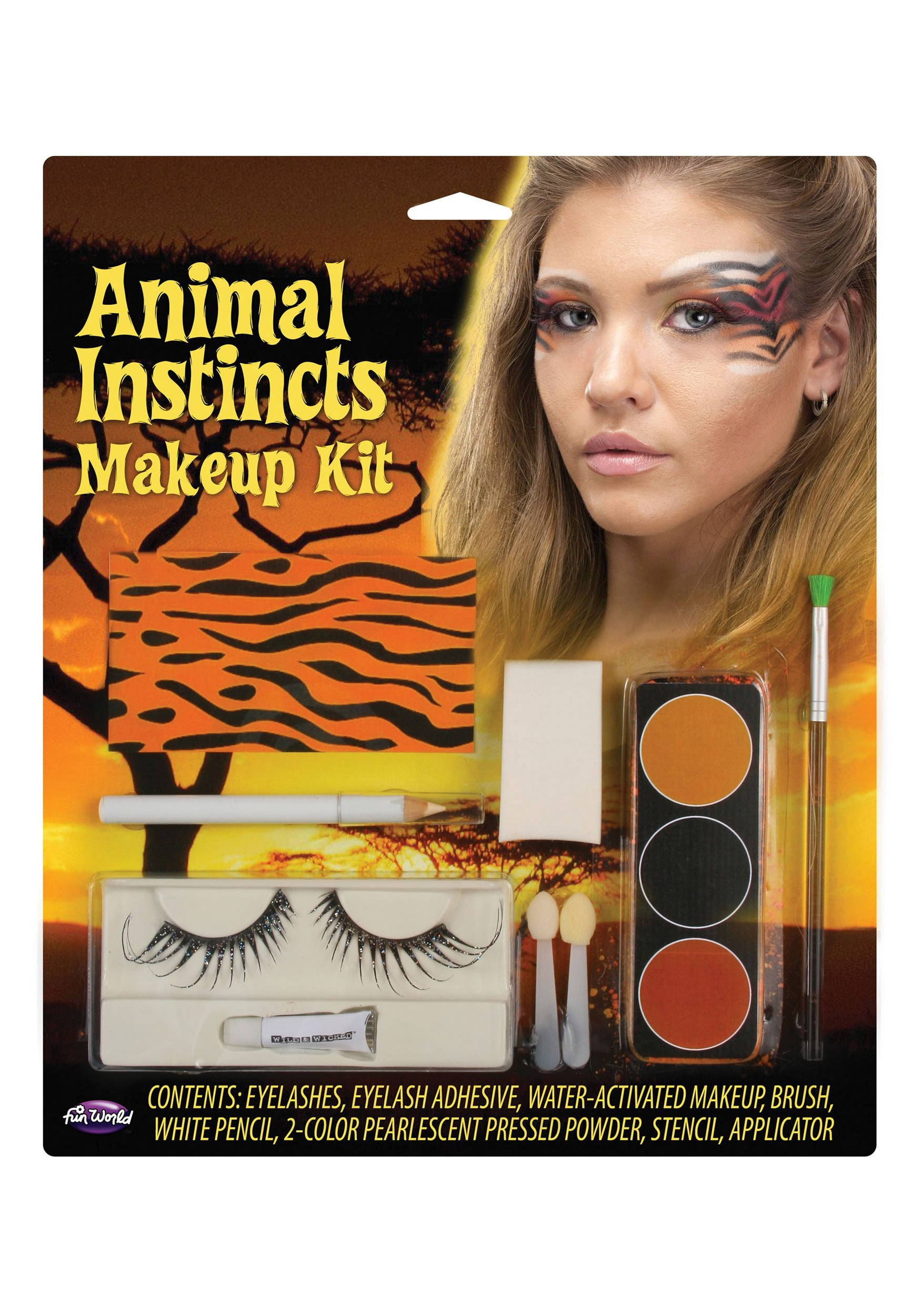 Tiger Animal Instincts Makeup Kit  sc 1 st  Halloween Costumes & Tiger Animal Instincts Makeup Kit - Halloween Costumes