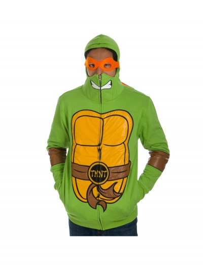 TMNT Full Zip Hoodie with Mask buy now
