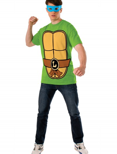 TMNT Leonardo Adult Costume Top buy now