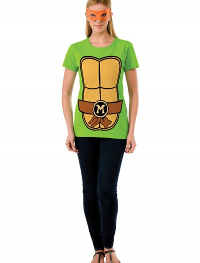 TMNT Michelangelo Adult Costume Top buy now