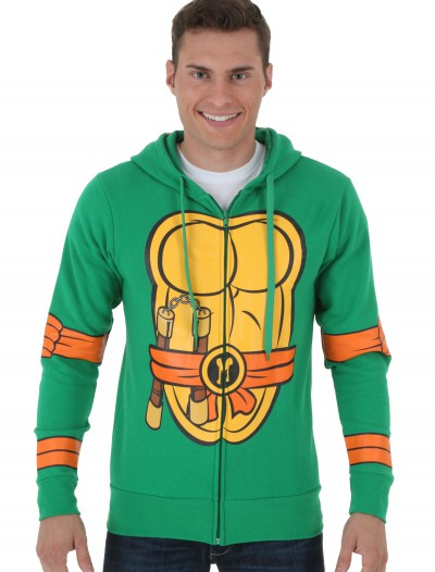 TMNT Michelangelo Zip Hoodie buy now