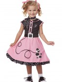 Toddler 50s Poodle Cutie Costume buy now