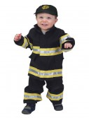 Toddler Black Firefighter Costume buy now