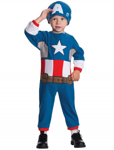 Toddler Captain America Fleece Jumpsuit buy now