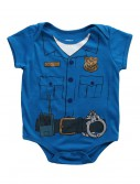 Toddler Cop Uniform Onesie T-Shirt buy now