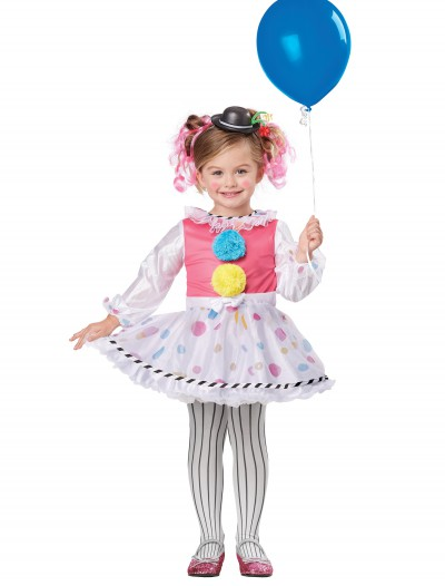 Toddler Cutsie Clown Costume buy now