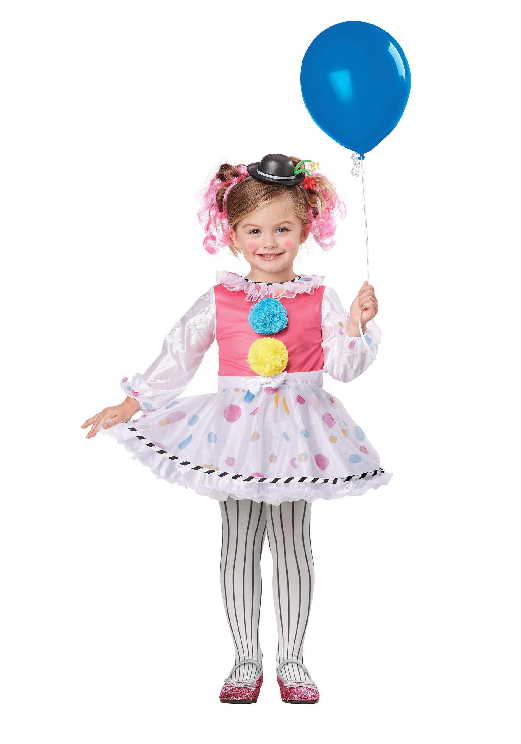 Toddler Cutsie Clown Costume  sc 1 st  Halloween Costumes & Toddler Cutsie Clown Costume - Halloween Costumes
